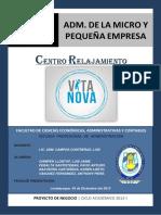Vita Nova Proyecto
