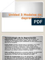 Modelos de Depreciación
