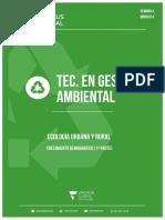 Ecología Urbana y Rural - Manual Del Alumno - Semana 4