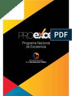 PROEXCE Programa Nacional de Excelencia