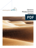 Actix Radioplan Generic Measurement Import Guide 3 12