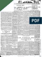 El Sol (Madrid. 1917). 3-4-1920