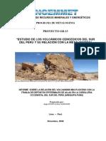 2008 Informe Técnico POI GR13 2008 Volcanico Metalongenia Sur Peru Acosta