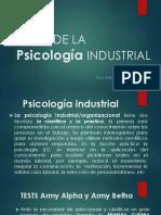 HISTORIA DE LA Psicología INDUSTRIAL.pptx