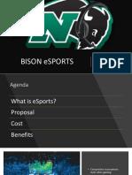 esport presentation