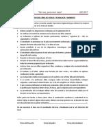 Reglamento Del Área de Ciencia y Tecnología y Ambienteaula , Laboratorio y Silabus