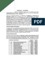 Contrato de Madera