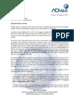 Carta Abierta Del Pr David Gates Al Presidente de La Union Dominicana