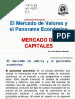 Mercado de Valores y Panorama Económico