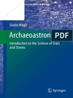 (Undergraduate Lecture Notes in Physics) Giulio Magli (Auth.)-Archaeoastronomy_ Introduction to the Science of Stars and Stones-Springer International Publishing (2016)