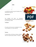 Alimentos en Proteína