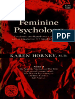 [the Norton Library] Karen Horney - Feminine Psychology (1973, W W Norton & Co.)