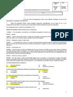 Evaluación Diagnóstica Octavos Básicos 2014