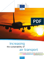 Increasing Sustainability of Air Transport