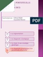 Présentation de la matrice BCG