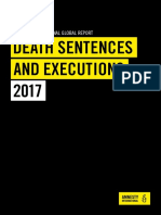 Amnesty International's Death Sentence and Executions 2017 Report