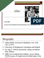 Arthur Miller and McCarthyism