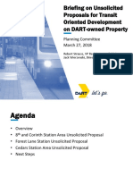 Unsolicited Proposals on DART Owned Property