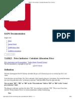 TARKZ - Price Indicator_ Calculate Allocation Price_ Consolut