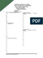 III Sumativo Universidad Nacional de Tumbes - Cepu 2014 Junio - Agosto (Respuestas)