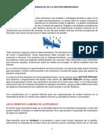Informacion No. 01-Temas Generales de La Gestión Empresarial