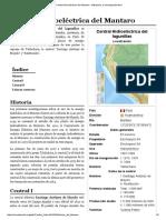 Central Hidroeléctrica - Mantaro