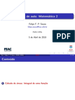 Matemática 2 ADM UFAL