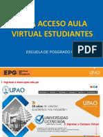 Guía Ingreso Aula Virtual EPG - ALUMNOS