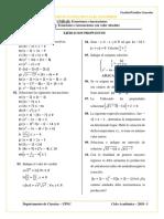 H.P. Ecuaciones e Inecuaciones Con Valor Absoluto