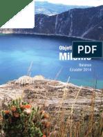 Objetivos Del Milenio Balance 2014