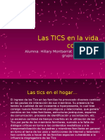 Las TICS en La Vida Cotidiana
