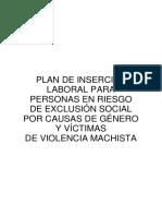 Plan Inserción Laboral Victimas Violencia Machista