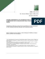1. Scielo - Comuncación Bucosinusal