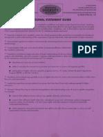 Preparing for Graduate School Handouts