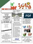 7. July 2017 Kids' Corner Newsletter