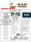 11. November 2017 Kids' Corner Newsletter