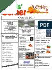 10. October 2017 Kids' Corner Newsletter