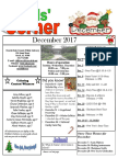 12. December 2017 Kids' Corner Newsletter