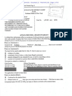Application for Search Warrant NXIVM investigation