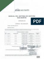SIG-MAN-001 Manual Del Sistema de Gestión SM V05