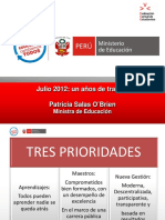 Presentacion Patricia Salas OBrien