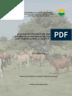 Yelin - Analisis Económico de Sistemas de Invernada Pastoriles de Vaquillonas ..