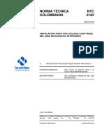 NTC5183 VENTILACION PARA UNA CALIDAD DE AIRE ACEPTABLE.pdf