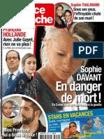France Dimanche du 12 au 18 août 2016
