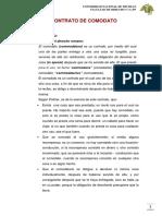 Contrato de Comodato (1)