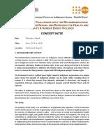 UNPFII17 UNFPA & CHIRAPAQ Parallel Event Concept Note