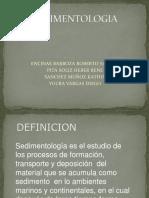 SEDIMENTOLOGIA