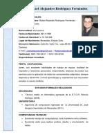 Curriculum RafaelRodriguez 1