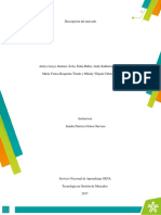 EV1 Informe Descripcion Del Mercado gestion de mercado