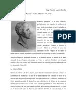 Propercio y Goethe